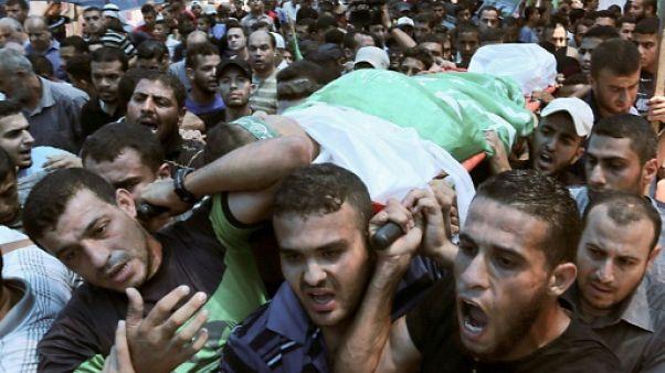 Gaza: décès d'un adolescent palestinien blessé par des tirs israéliens
