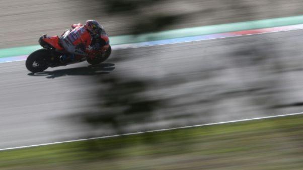 GP de République tchèque: la première pole depuis 2016 pour Dovizioso, Zarco 7e en MotoGP