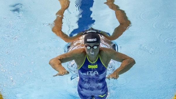 Nuoto: Di Liddo bronzo nei 100 farfalla