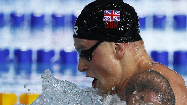 Peaty breaks own world 100 metres breaststroke record