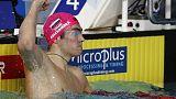 الروسي كوليسنكوف يحطم الرقم القياسي العالمي لسباق 50 مترا ظهرا ببطولة أوروبا