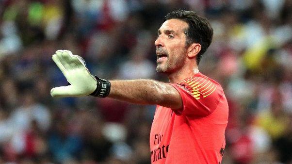 Buffon: felice per Supercoppa