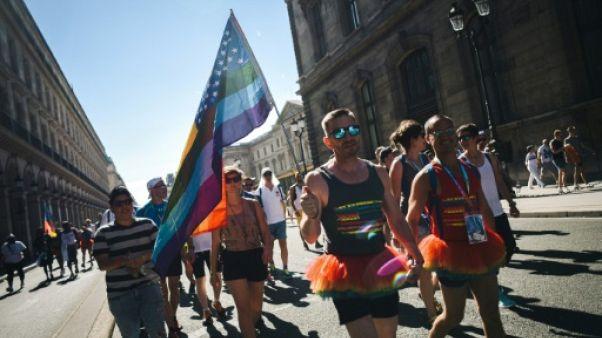Défilé festif, spectacle et soirée pour l'ouverture à Paris des 10e Gay Games