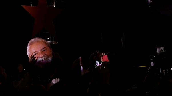 Brazil's Workers Party launches jailed Lula for president