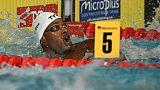 Euro de natation: Metella sort la tête de l'eau à point nommé