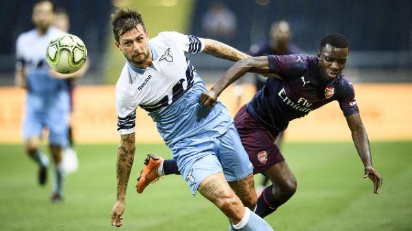 Amichevoli: Lazio-Arsenal 0-2