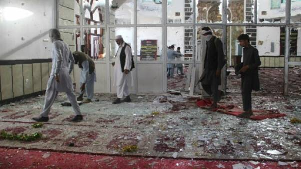 Afghanistan: le bilan de l'attaque d'une mosquée chiite s'alourdit à 35 morts, l'EI revendique