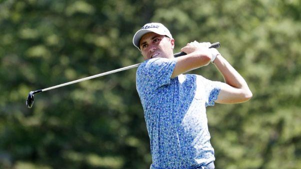 Golf - Thomas opens three-shot lead over McIlroy at Bridgestone