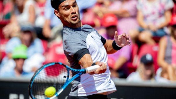 Tennis: Fognini plus fort que Del Potro, gagne son 8e titre à Los Cabos
