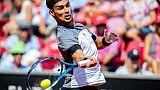 Tennis: premier titre sur dur pour Fognini à Los Cabos, plus fort que Del Potro