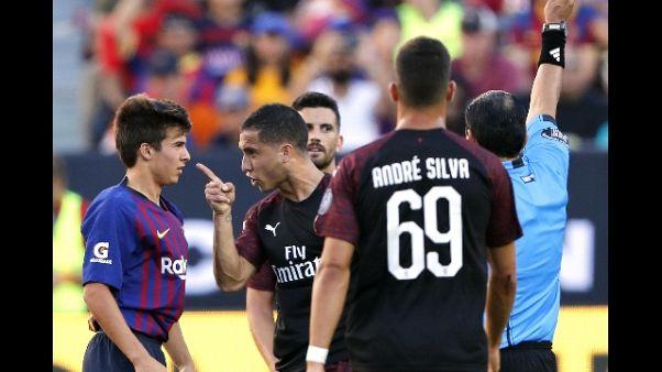 ICC: Milan-Barca 1-0, A.Silva al 93'