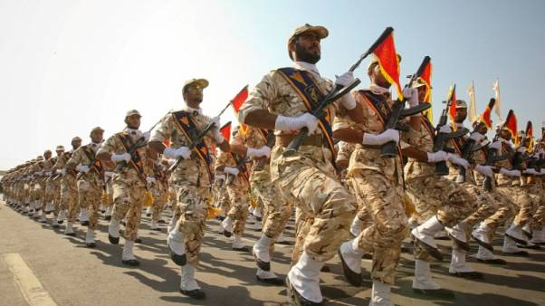 Iran's Revolutionary Guards says it held Gulf war games this week - news agency