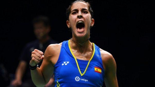 Badminton: Carolina Marin, première joueuse à remporter trois titres mondiaux