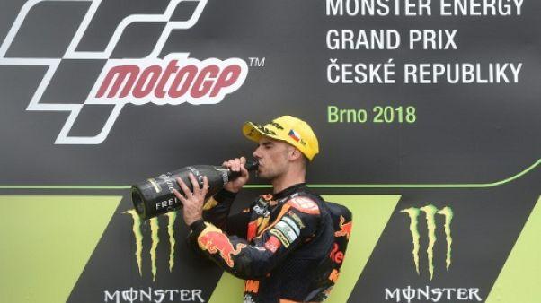 GP de République tchèque: Oliveira gagne et prend la tête du Championnat du monde
