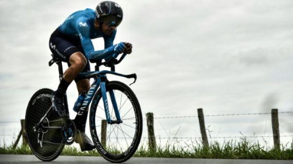 Cyclisme: vertèbre fracturée pour Landa, forfait pour la Vuelta