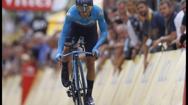 Ciclismo:frattura per Landa,addio Vuelta