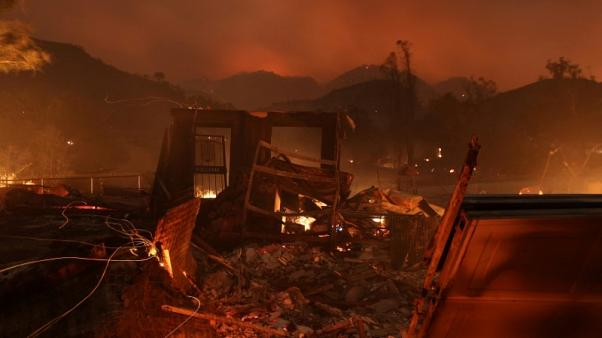 Massive California wildfire becomes fifth largest in state history