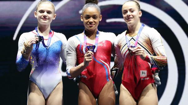 Russian women eclipsed in apparatus events at Euros