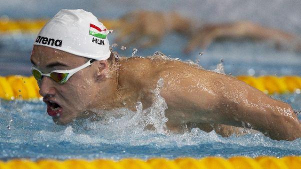 Nuoto: Europei, bronzo per Burdisso