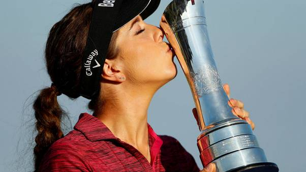 Golf - England's Hall rallies to win Women's British Open