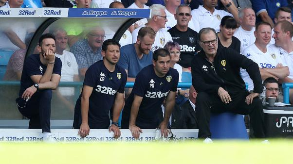 Soccer - Bielsa begins Leeds reign with 3-1 win over Stoke