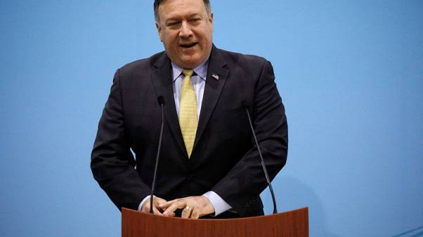 U.S. Secretary of State Pompeo plays down North Korea sparring