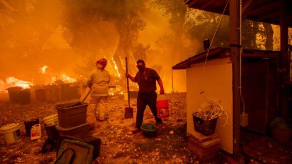 Un septième mort dans les incendies en Californie