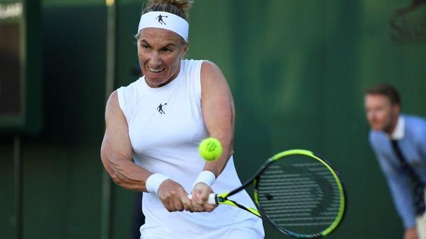Tennis - Kuznetsova survives four match points to win in Washington