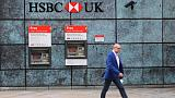 HSBC first-half profit rises 4.6 percent