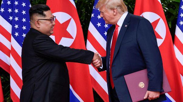 North Korea state media urges U.S. to drop sanctions