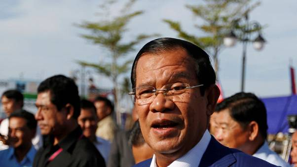 Cambodia's Hun Sen says will give speech to U.N. after 'flawed election'