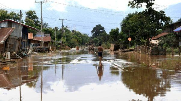 Effondrement d'un barrage au Laos: 31 morts et 130 disparus, selon un nouveau bilan