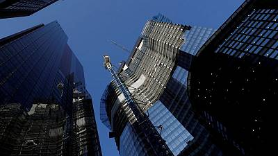 AXA unit signs first tenant for tallest City of London building