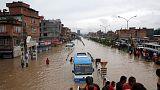 مقتل امرأة وسبعة أطفال في انهيار أرضي في نيبال