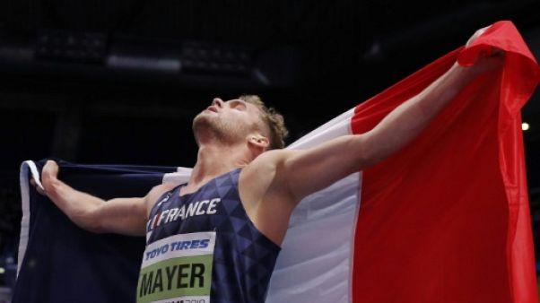 Euro d'athlétisme: Mayer assume son statut de favori