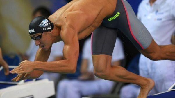 Euro de natation: Pothain éliminé dès les séries du 200 m