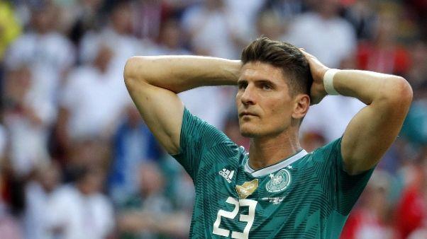 Gome addio a nazionale, Neuer 'peccato'