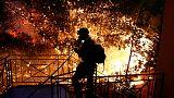 استقالة رئيس إدارة الحماية المدنية في اليونان بعد حرائق الغابات