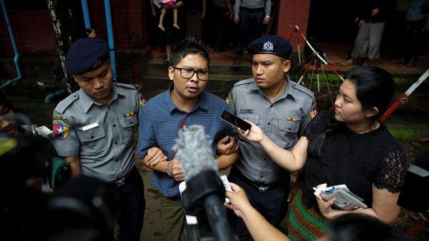 Reuters reporters 'revealing the truth', former teacher tells Myanmar court