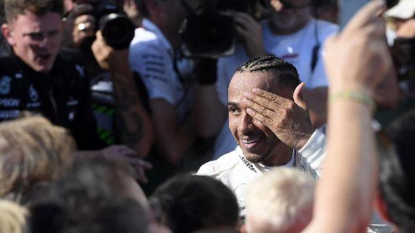 F1: Hamilton, sognavo un vantaggio così