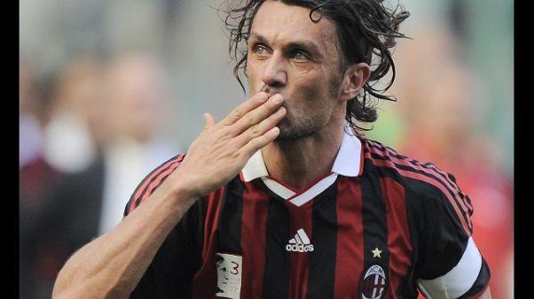 Maldini, fischi? Tifosi Milan mi amano