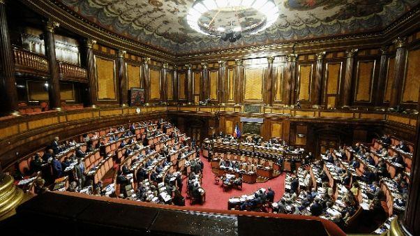 Milleproroghe: ok Senato con 148 sì