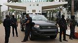 """الرئاسة النيجيرية تدين حصار البرلمان """"غير المصرح به"""""""