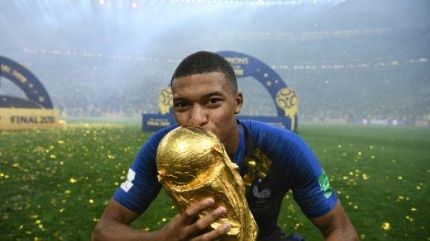 Paris SG: les champions du monde Mbappé, Kimpembe et Areola de retour à l'entraînement