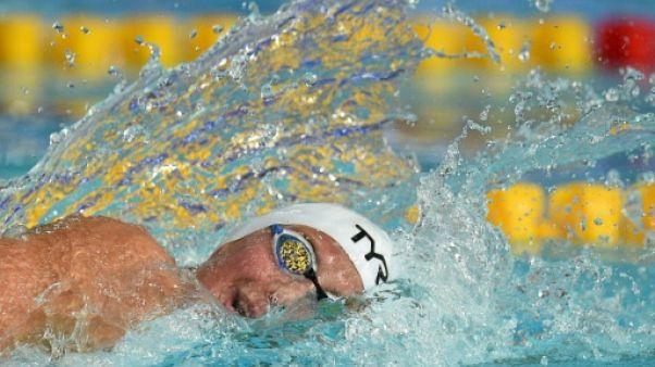 Euro de natation: Bonnet 3e temps des séries au 100 m derrière Plume et Sjöström