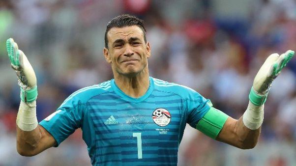 Il più vecchio ai Mondiali lascia Egitto