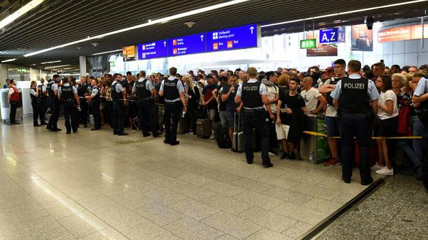 Security lapse sparks evacuation at Frankfurt airport