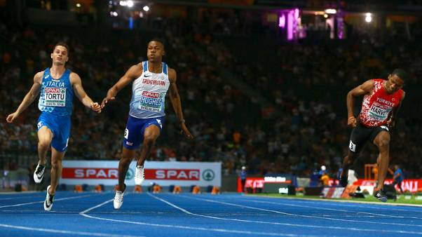 Athletics - Hughes and Asher-Smith complete 100m double for Britain