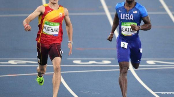 Athlétisme: Hortelano, le sprint espagnol à lui tout seul