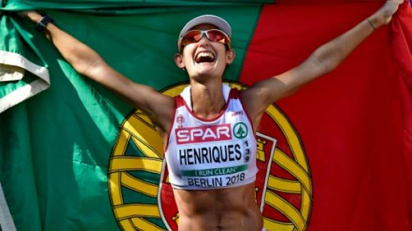 Euro d'athlétisme: la Portugaise Henriques sans rivale au 50 km marche